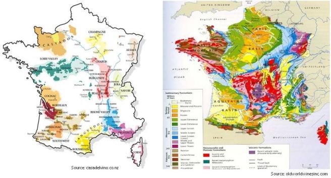 Geological:Wine Regions