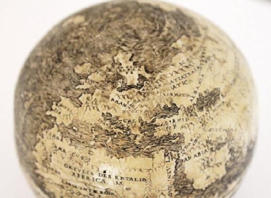 Ostrich Egg Globe (1504)