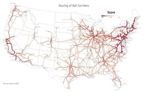 rail map scored corridors
