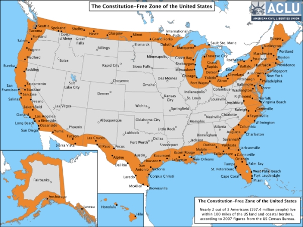 Constitution free Zone of US