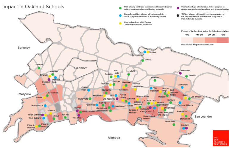 Impact on Oak Schools