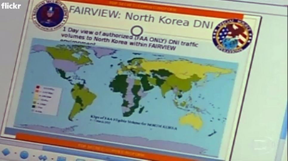NSA--Routes to North Korea