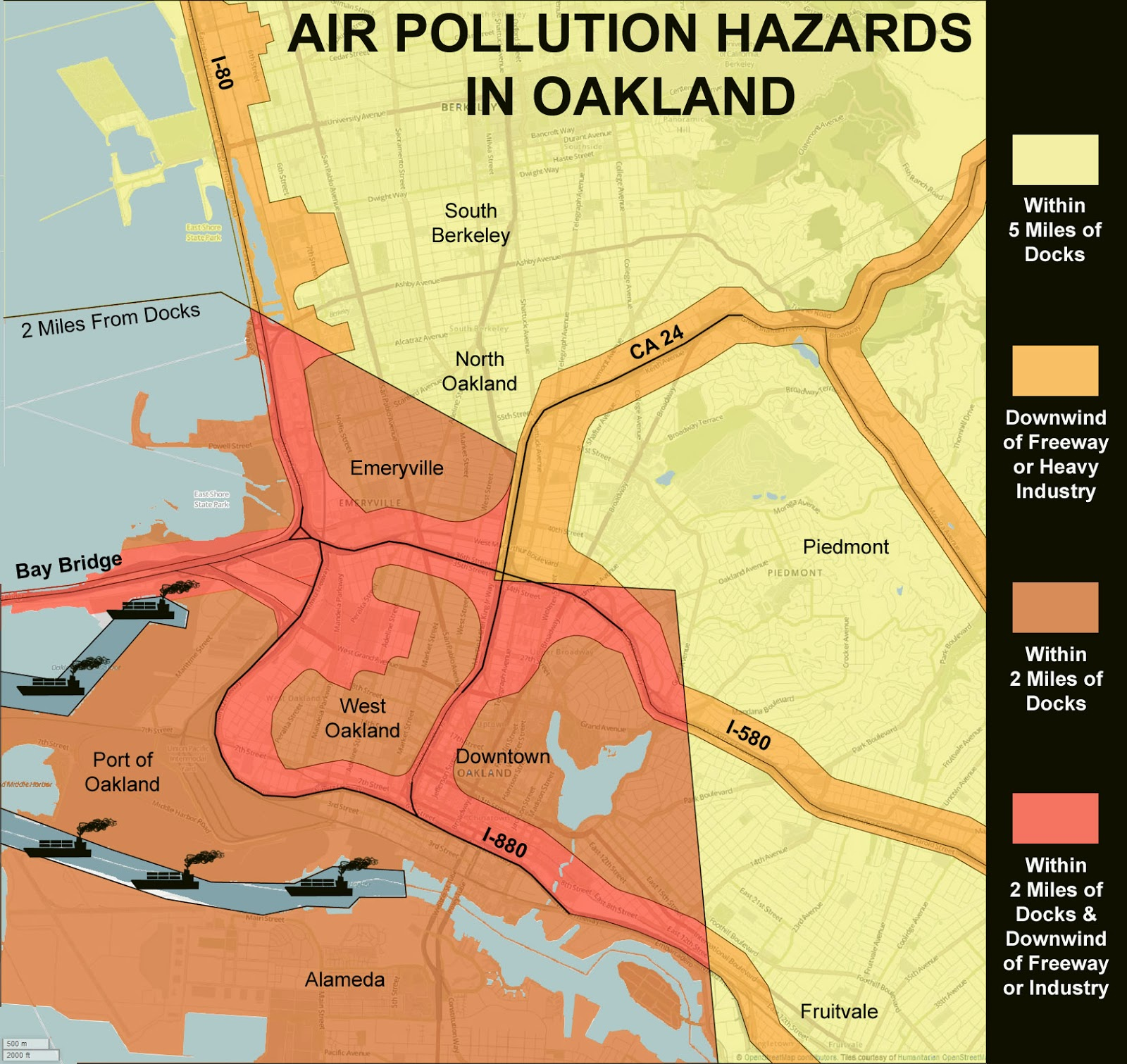 oakland-port-and-highway-air-pollution-map