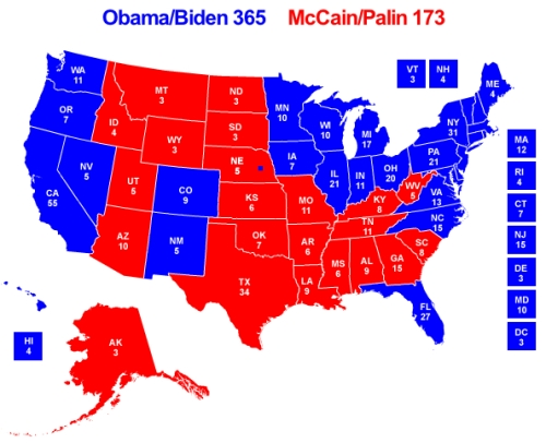Obama:Biden McCain:Palin