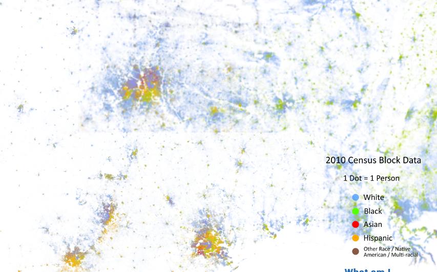 SouthWest Racial Dot