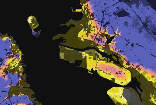 Stephen Whorley, Elevation and Poopulation Density (2010)