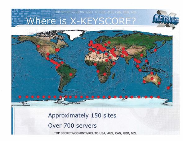 WHERE IS X-KEYSCORE?