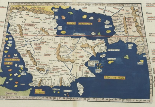 Greece and Aegean in Ptolemaic Codex