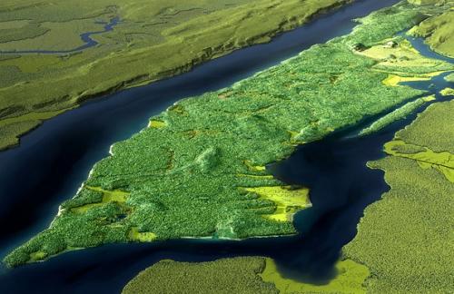 Mannahatta's verdant paradise 1609