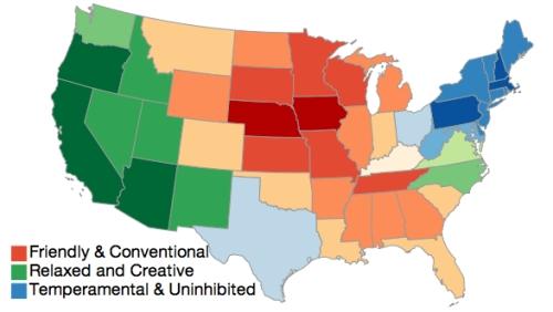 America's Mood Map