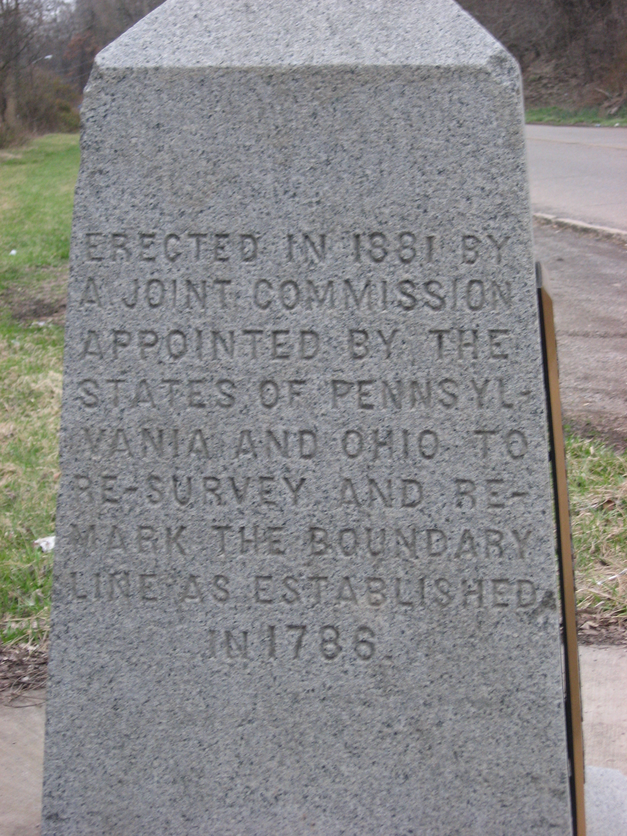 Beginning Point Of The U S Public Land Survey Ohio