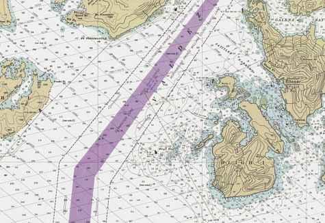 Valdez Bligh Reef Chart
