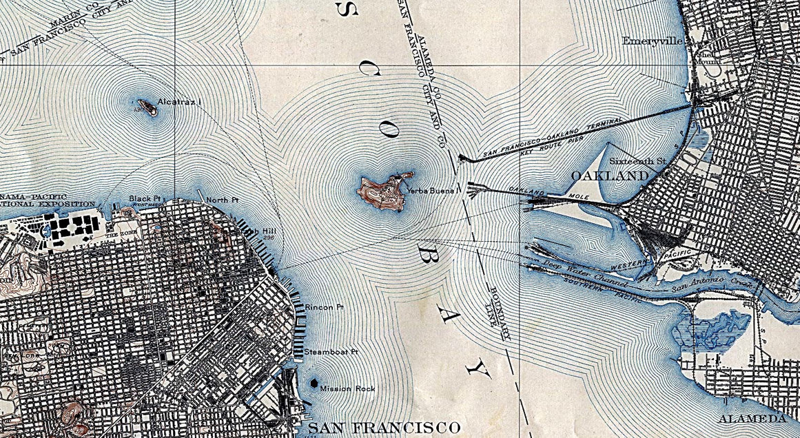 1915 SF Bay Map