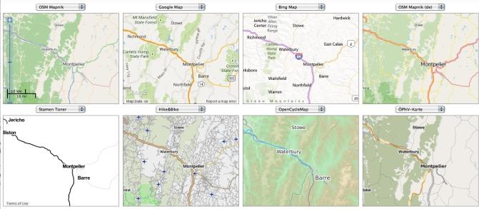 8 Maps Near Montpelier