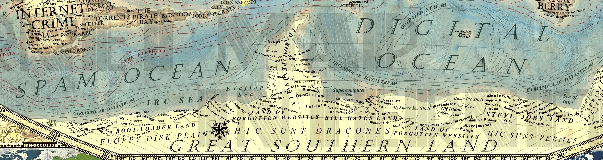 Internet Maps for Geeks Only? | Musings on Maps