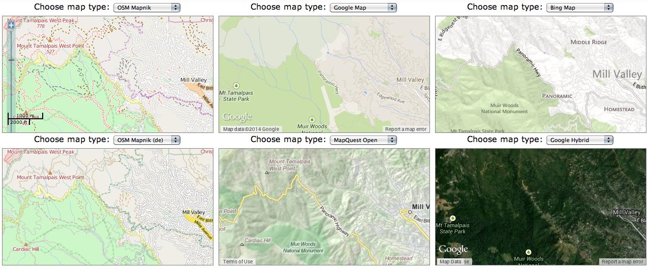 Mt. Tam Visualized