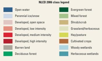 NLCD 2006 Legend