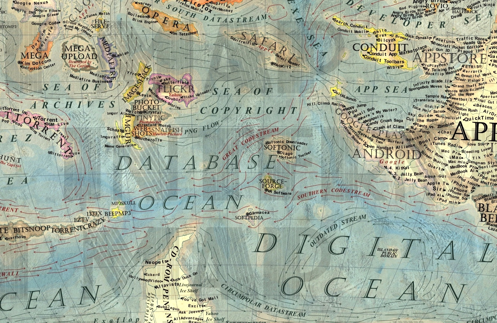 Sea of Copyright:Digital Ocean