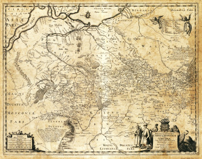 Beauplan_Poland_XVII_map