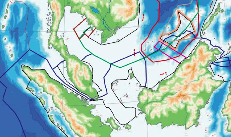 Complex Delineation of Nautical Borders