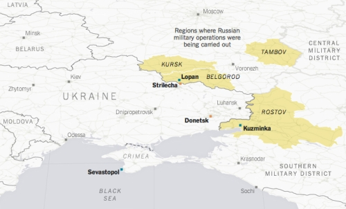 Russian forces outside Ukraine