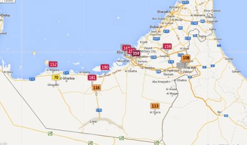 Emirates and Abu Dhabi 5.21, 3-10