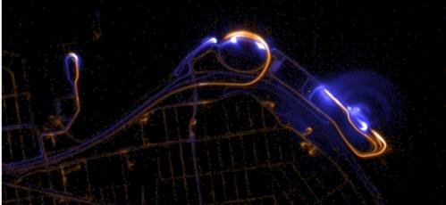 GPS Fixes near LaGuardia Airport