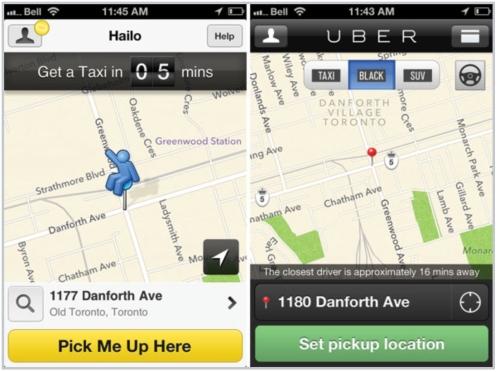 Hailo:Uber