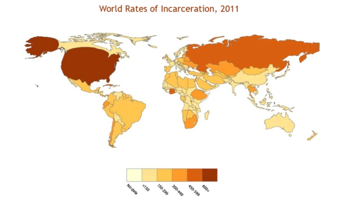 imprisonment cartogram