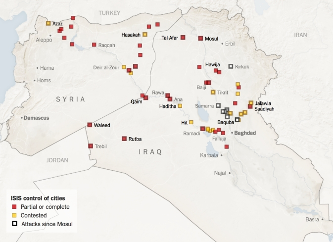 NY TIMES ISIS control