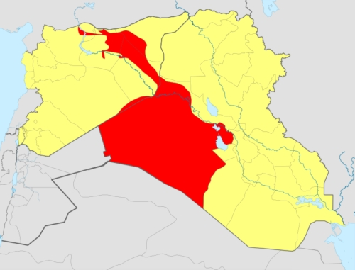Bad Wikipedia %22ISIS%22 Map