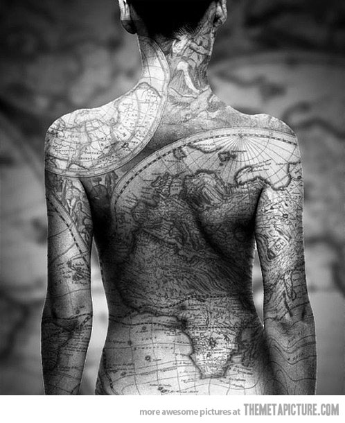 cool-tattoo-world-map-body