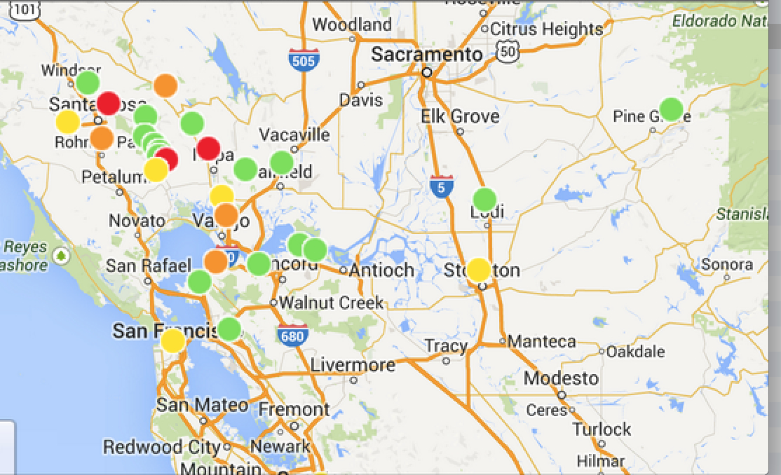 pg&e outage report