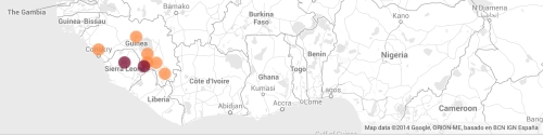 By march 23 ebola