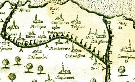 Cordoning Bari