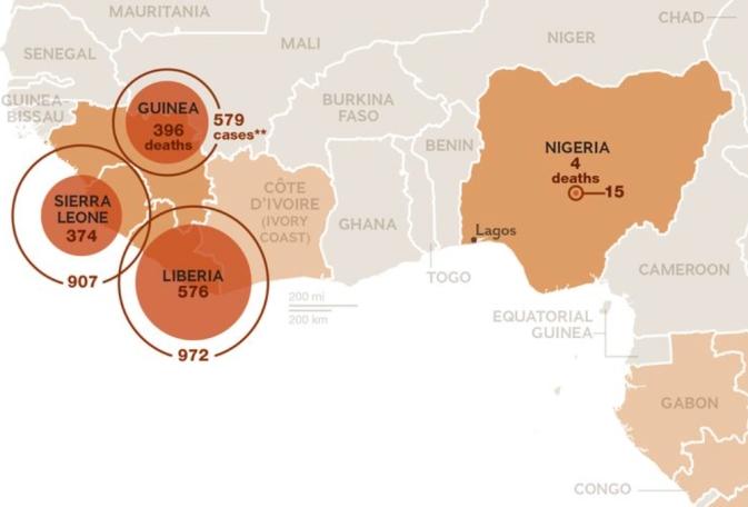 NG Ebola Map