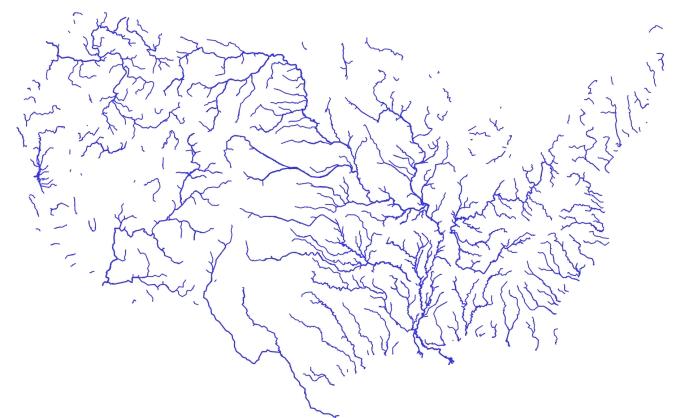 River Map of US--Bostockian, by Jason Davies