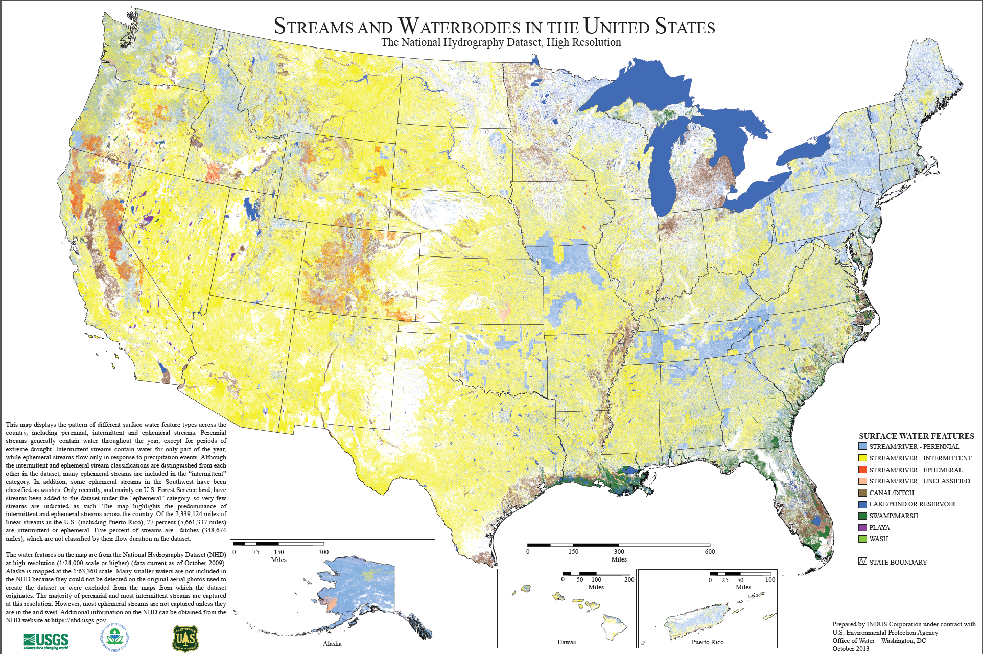 American Rivers Musings On Maps - Bodies of water in us map