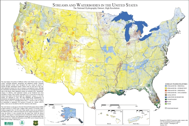 Streams and Waterbodies