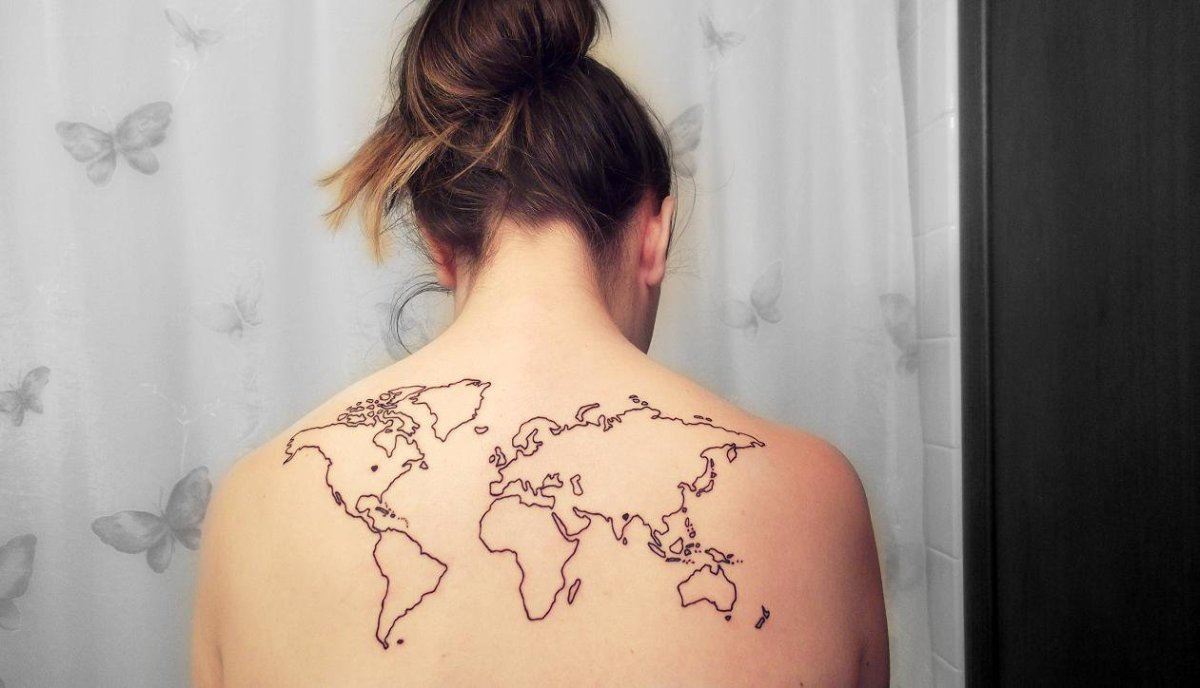 Reading the world as it is worn on ones shoulders musings on maps gumiabroncs Choice Image