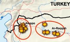aleppo and raqqa