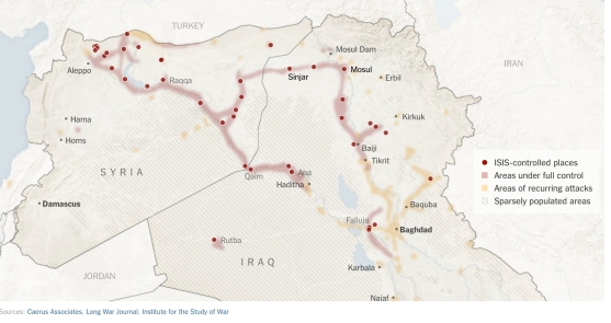 ISIS Sept 23 map