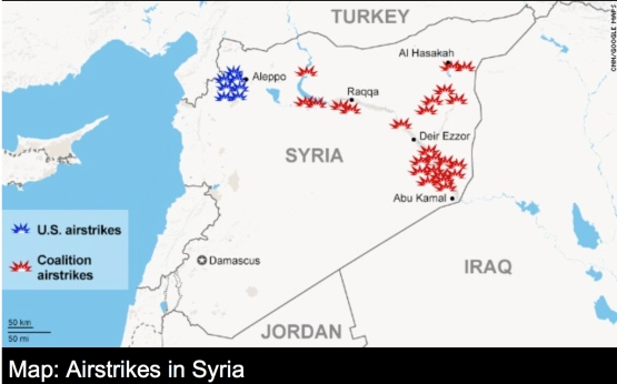 SYrian Air Strikes