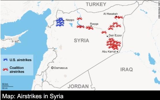 SYrian Air Strikes