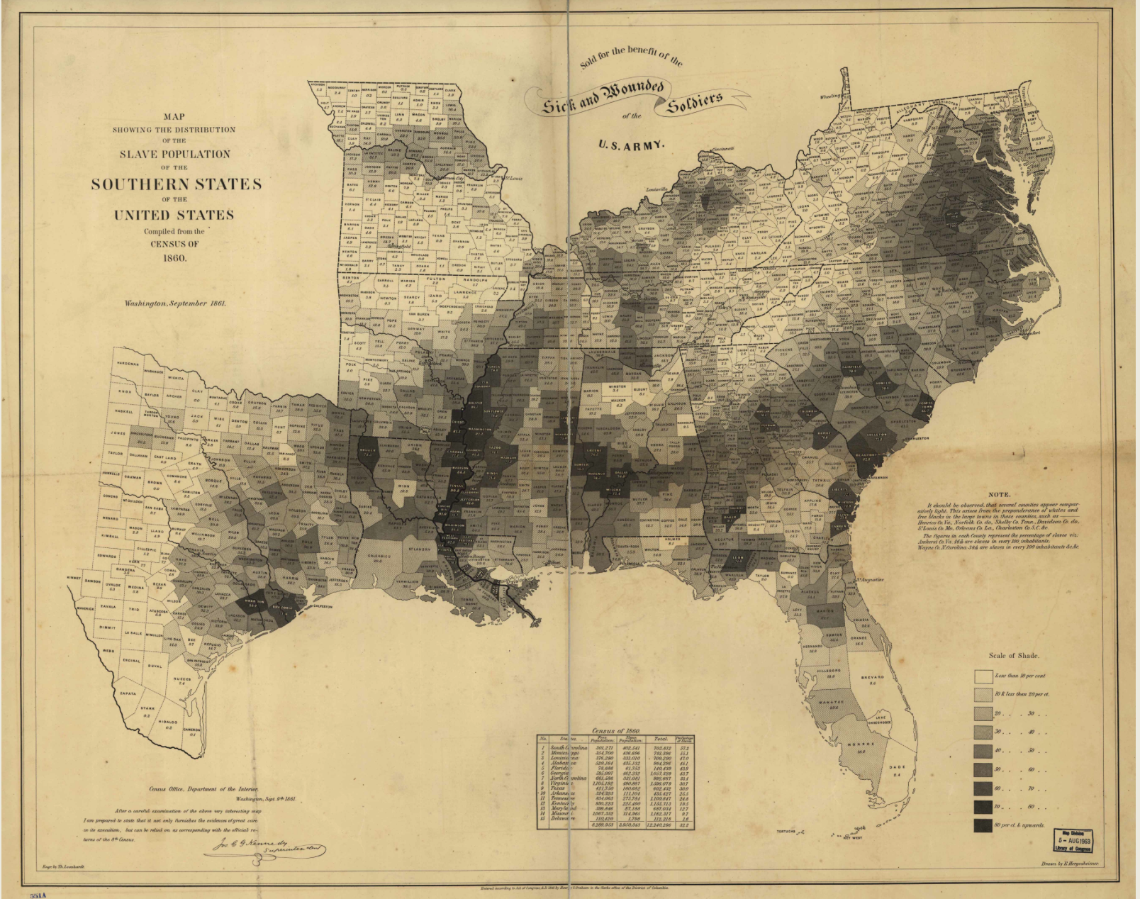 Mapping Secession Of Southern States Musings On Maps - Map of united states during reconstruction