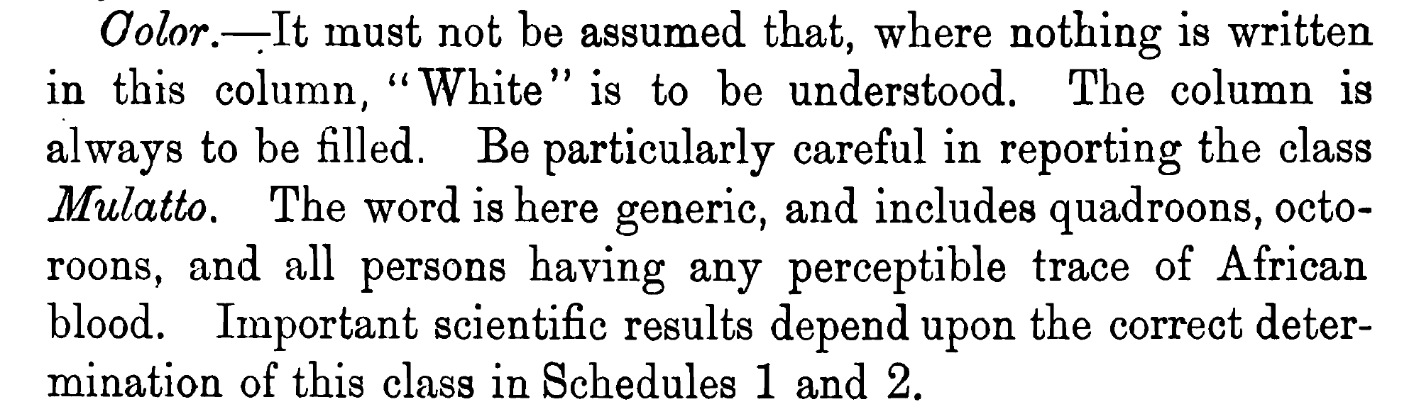 Color 1870 census
