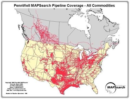 Commodity-pipelines