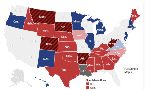 Last Map Tues Election Eve