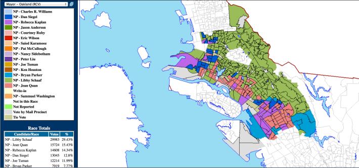 Oakland 2014 mayoral