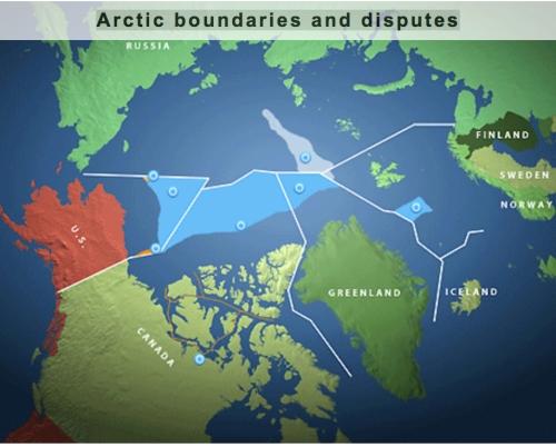 Arctic Boudnary Disputes